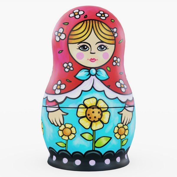 3D doll matryoshka
