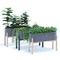 3D hakuun standing terrazzo