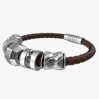 3D jewelry bracelet charm