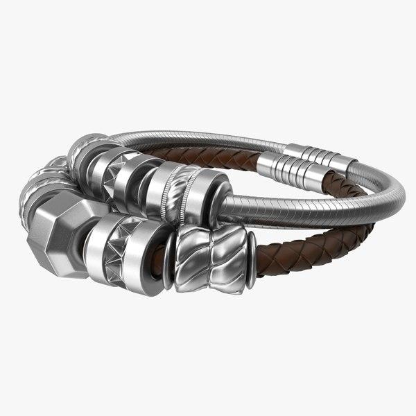 jewelry bracelet charm 3D model