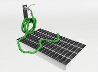 3D garden hose tap