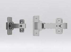 door cabinet hinge 3D model