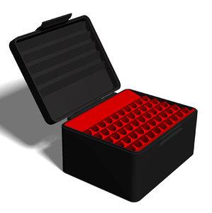 3D model ammo box 257 weatherby