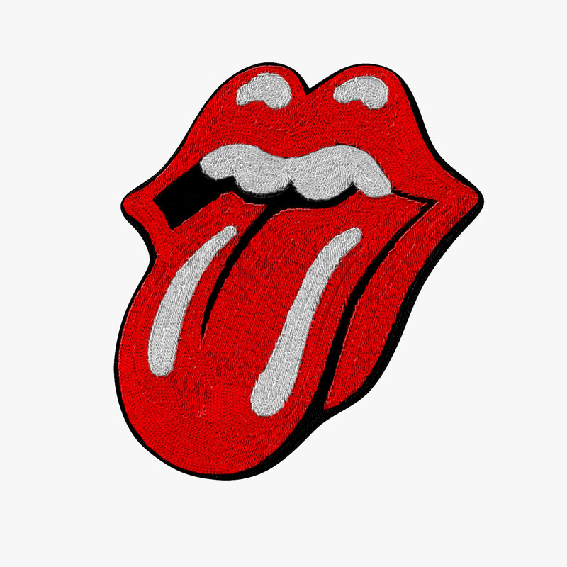 rolling stone patch 3D