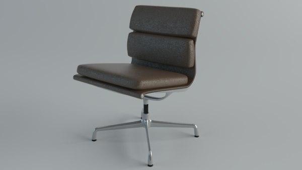 3D chair vitra soft pad
