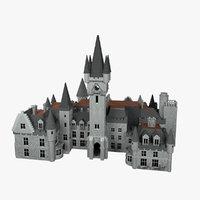 castle miranda 3D