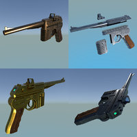 blaster dl-50 type 1 3D model