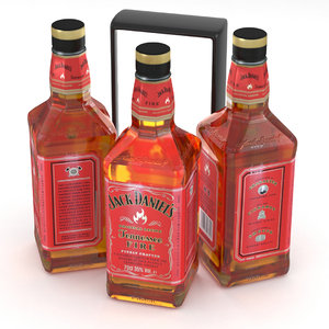 whiskey tennessee alcohol 3D