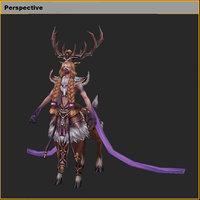 3D monster - general elk