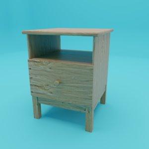 smalltable ikea tarva 3D model