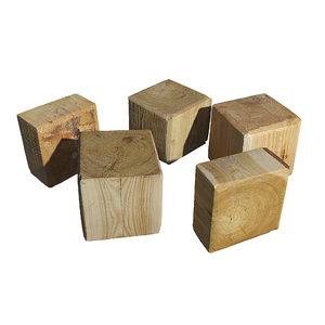 ultra realistic tree stump 3D model