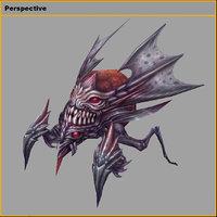 3D monster - dead soul