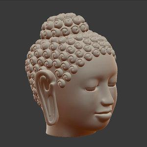 buddha head model