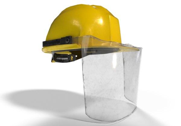 work helmet 3D model