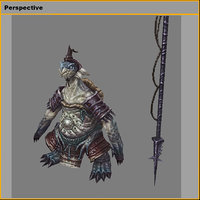 monster - tortoise overseer 3D model
