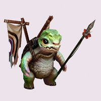 3D monster - turtle overseer