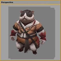 monster - meow 3D model