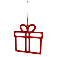 gift decoration red 3D model