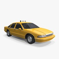 Chevrolet Caprice Taxi 1991-1993