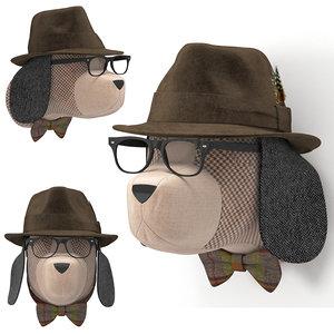 soft beagle - calvin 3D