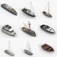 watercraft pack 3D model