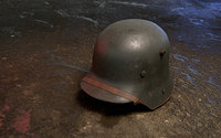 german helmet stahlhelm m1916 3D model