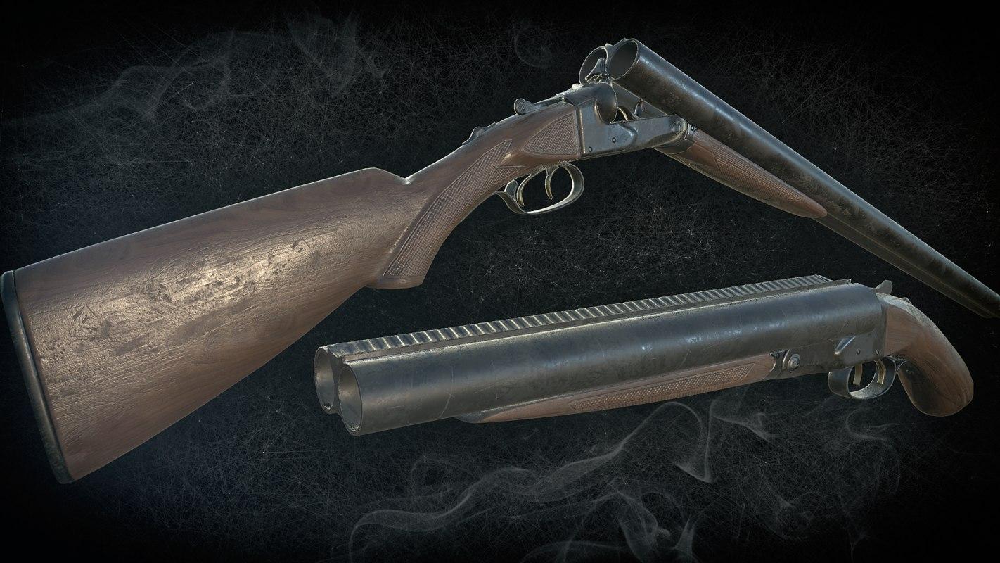 shotgun version includes 3D model