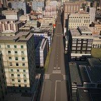 town city cityscape 3D