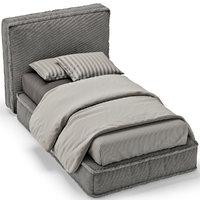 bed single 3D model