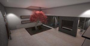3D luxury apartment model