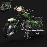 soviet motorcycles voskhod moto 3D