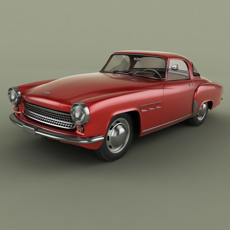 1957 wartburg 313 sport coupe model