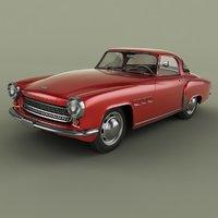 1957 wartburg 313 sport coupe model