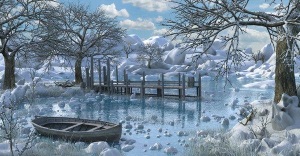 3D winter model
