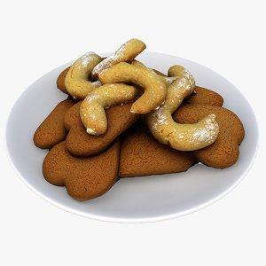 christmas cookies model