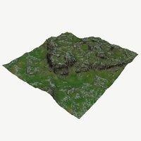 3D landscape land scape