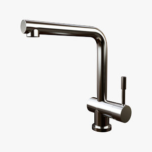 franke kitchen taps 3D model