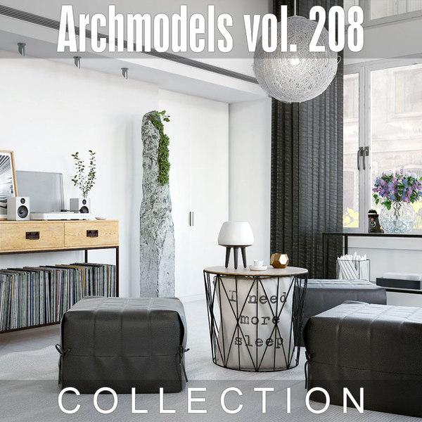 archmodels vol 208 3D