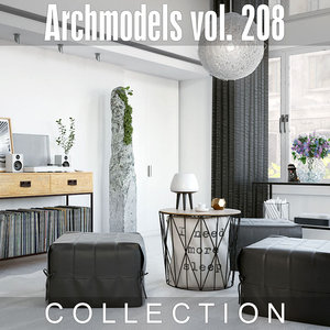 archmodels vol 208 3D