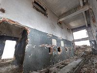 demolished building war 3D