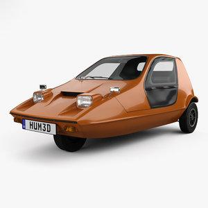 3D bond bug 1970