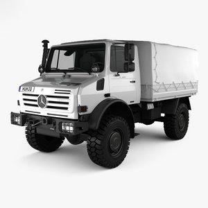 mercedes-benz unimog u4000 3D model