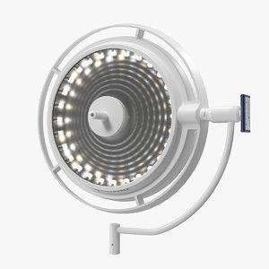 3D led surgical light model