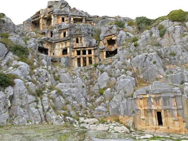 ancient city demre myra model