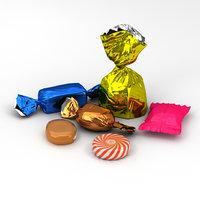 3D candies s