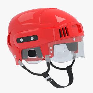 3D generic ice hockey helmet