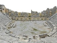 ancient amphitheater 24k model