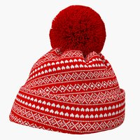 Christmas Winter Hat 3D Model
