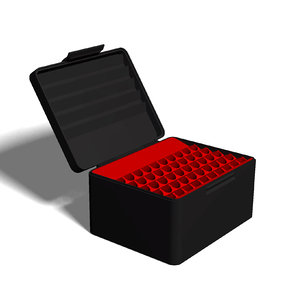 ammo box 30-378 weatherby 3D model