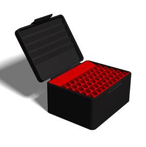 3D ammo box 338 lapua model